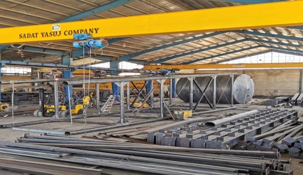 ساخت مخزن ۱۰۰هزارلیتری–شرکت شهرکهای صنعتی